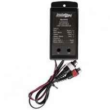 Two Bay Adustable Charger Black